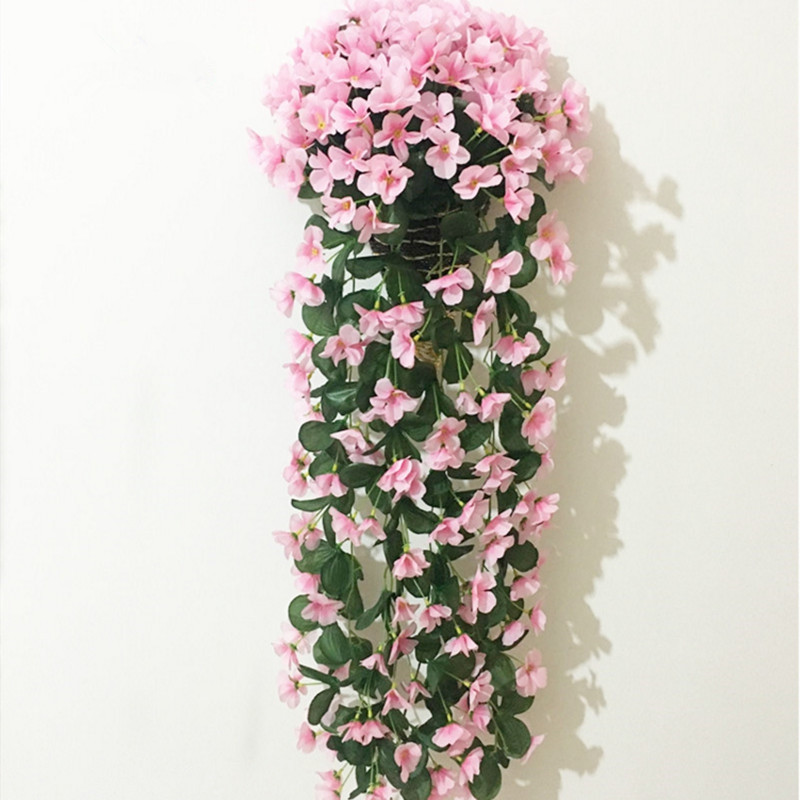 1 Bouquet Wall Flower Hydrangea Gillyflower Home Decoration Artificial Flower