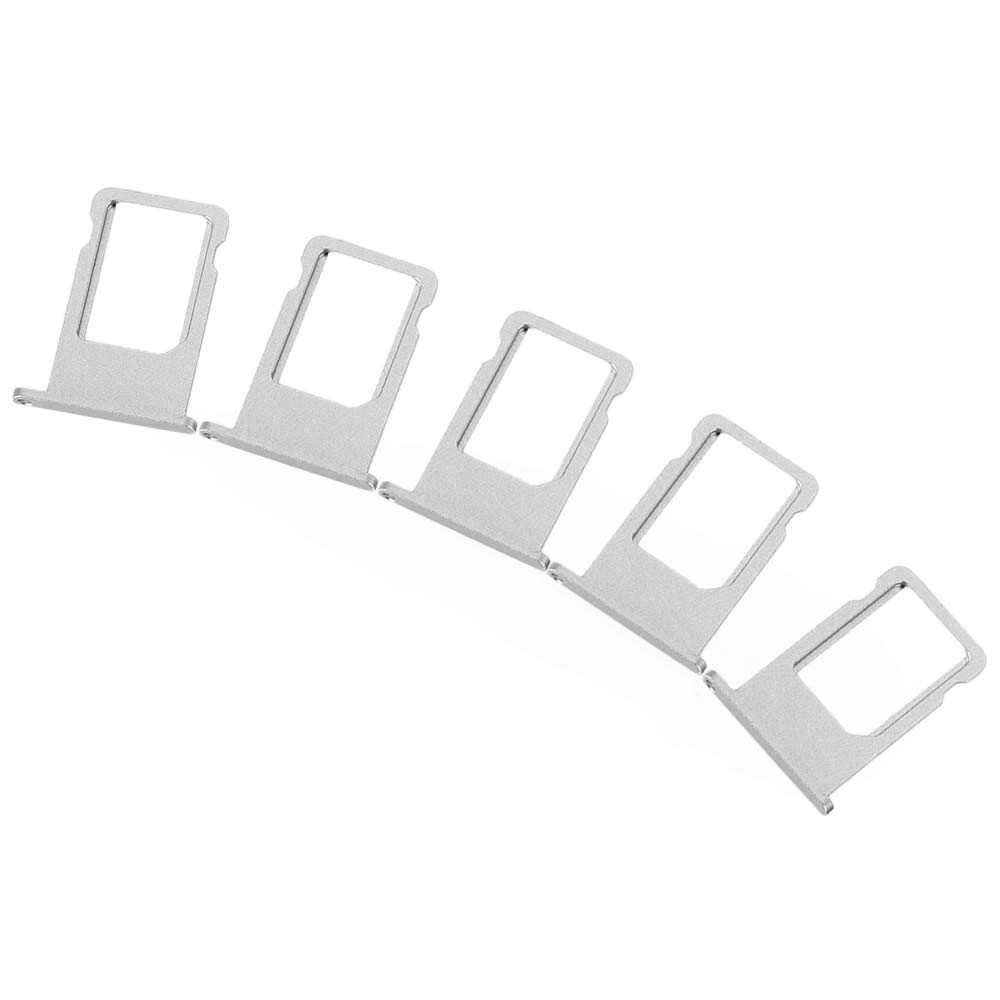5Pcs SIM Card Tray Slot Replacements for iPhone 6 Plus