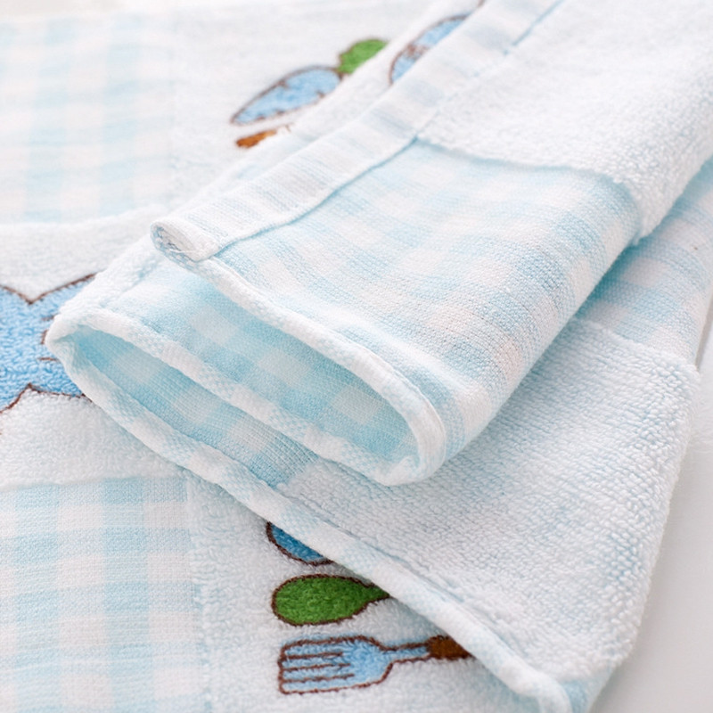 1 Pc Face Towel Cute Lovely Cartoon Pattern Cozy Soft Children's Face Towel