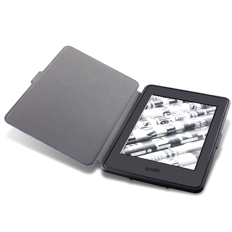 Folio Case Auto Sleep / Wake Function for Kindle Paperwhite 1 / 2 / 3
