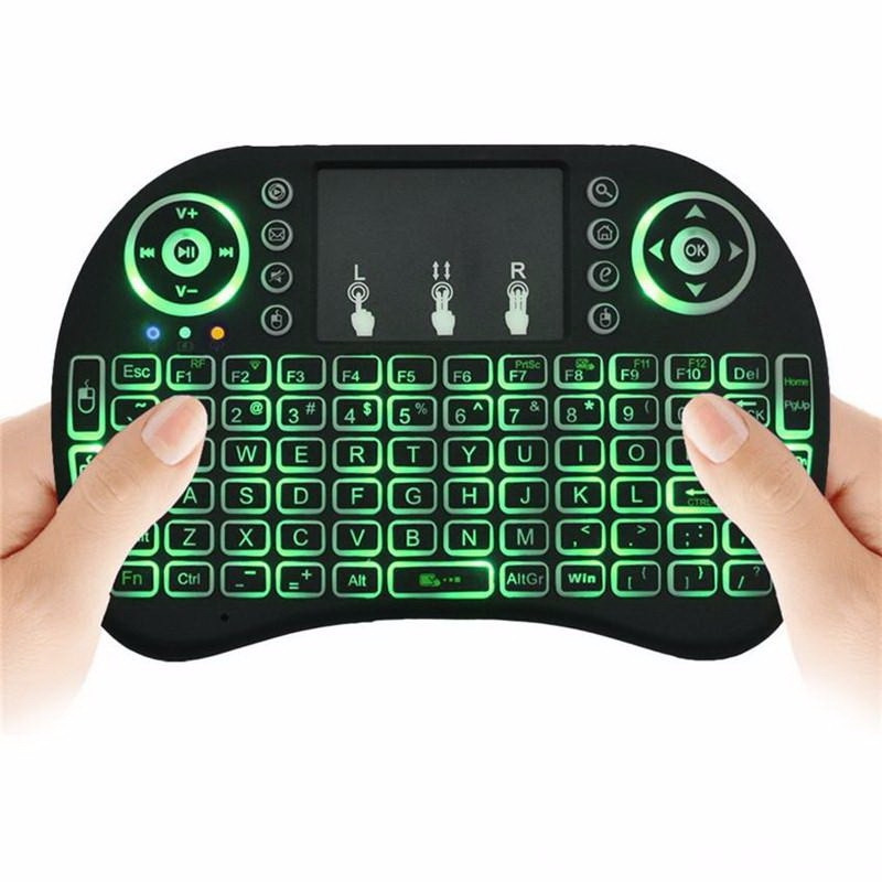 Air Mouse Keyboard Backlit Flying Squirrel for Android TV Box and PC with Touchpad